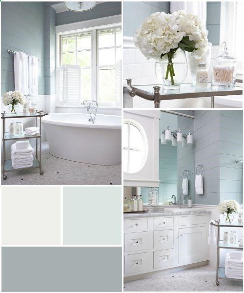 Beautiful Bathroom Color Schemes: Decoración Hogar, Decoracion