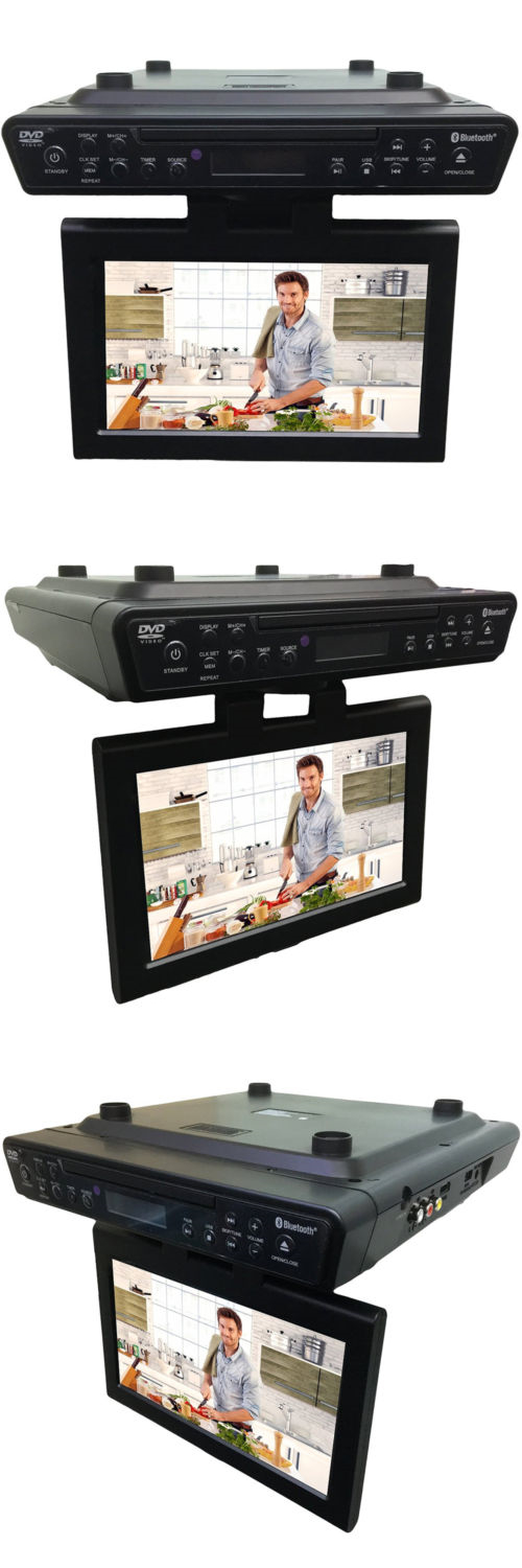 DVD and Blu-ray Players: Sylvania 10.1 Inch Kitchen Under Cabinet ...