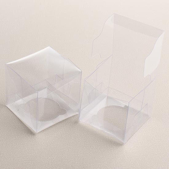 Clear Cupcake Boxes Cupcake favors Cupcake boxes and Favors