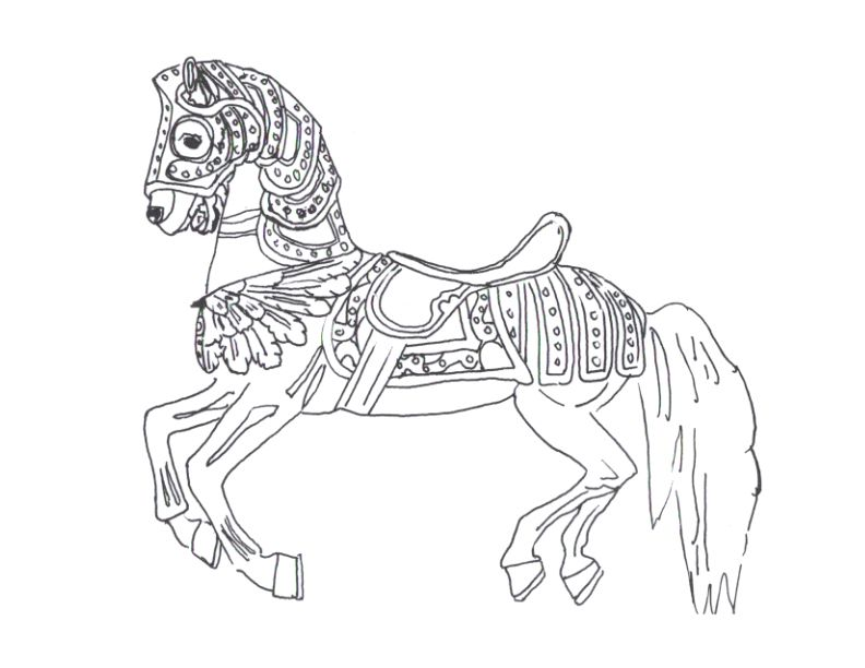Rochester Carousel Kids Crafts AZ Coloring Pages Quilts