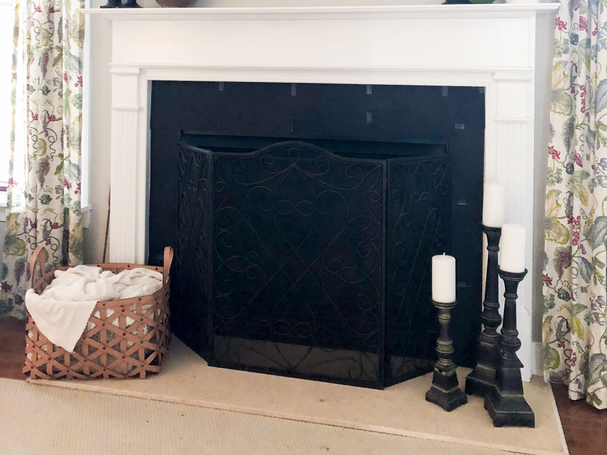 How To Upgrade A Dated Marble Fireplace With Chalk Paint Marble Fireplace Surround Marble Fireplaces Fireplace Surrounds