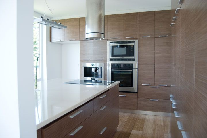 Pin By Taylorcraft Cabinet Door Compa On Contemporary Kitchen Bath Ideas Contemporary Kitchen Custom Kitchen Cabinets Walnut Kitchen Cabinets
