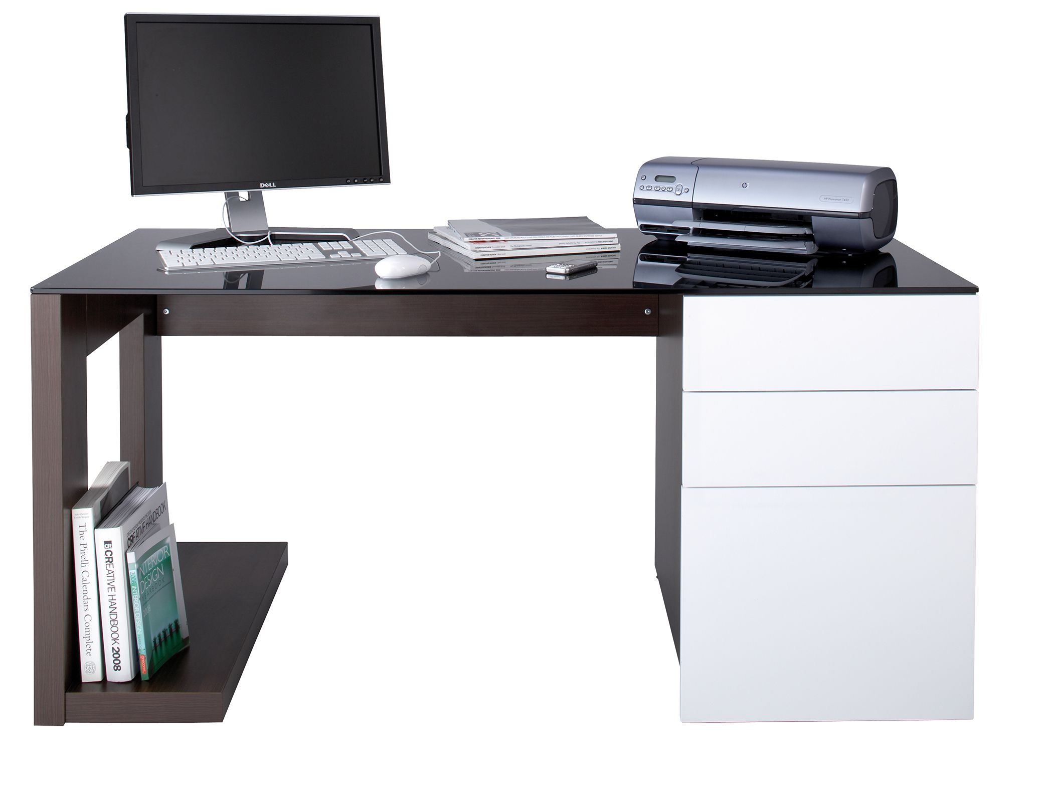 Architecture Awesome Modern Home Office Desk Design On Furniture Awesome Modern Computer Desk Design Ideas White Wooden Compter And Minimalist Desks For Your Home Office 30 Fabulous For Functional Enjoyable