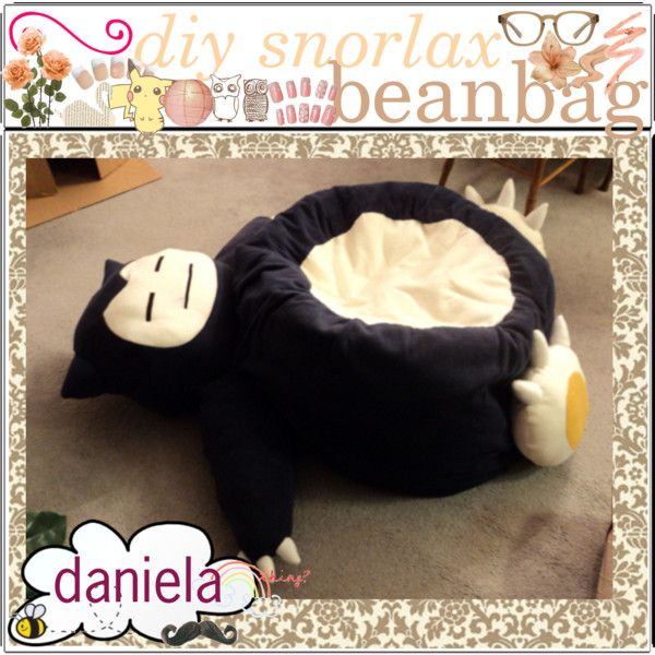 Fabulous Diy Snorlax Beanbag Plush Pattern Sewing Projects Pabps2019 Chair Design Images Pabps2019Com