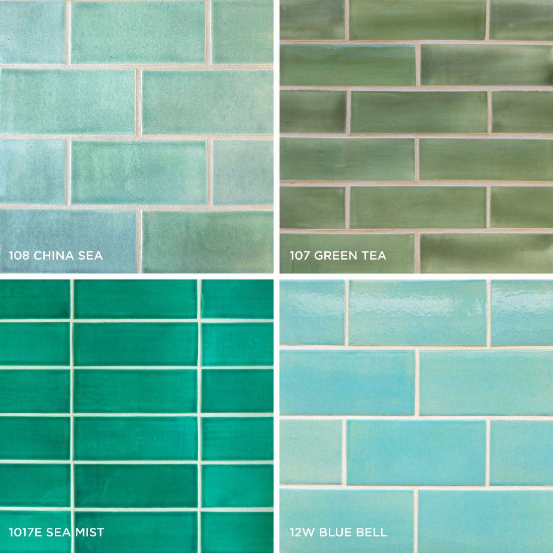 blue subway tile