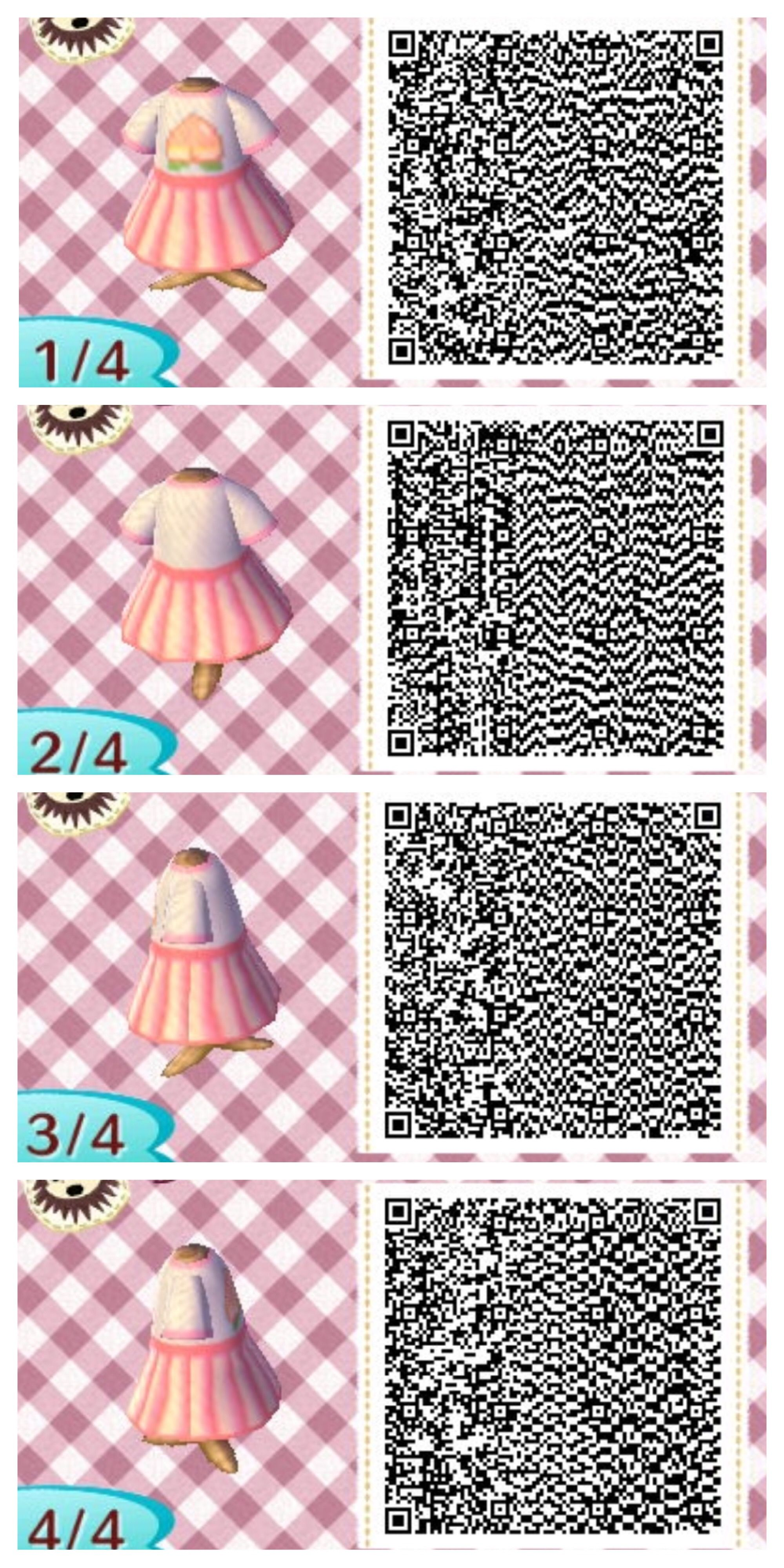 Pin by Kristen Tedrow on ACNL QR codes   Animal crossing