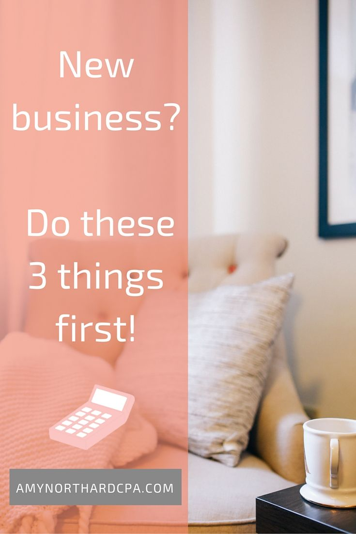 New business do these three things first business tax new business do these three things first youll save yourself from a headache later on solutioingenieria Images