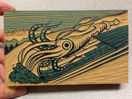 You can use linoleum carving tools like the ones speedball sells or
