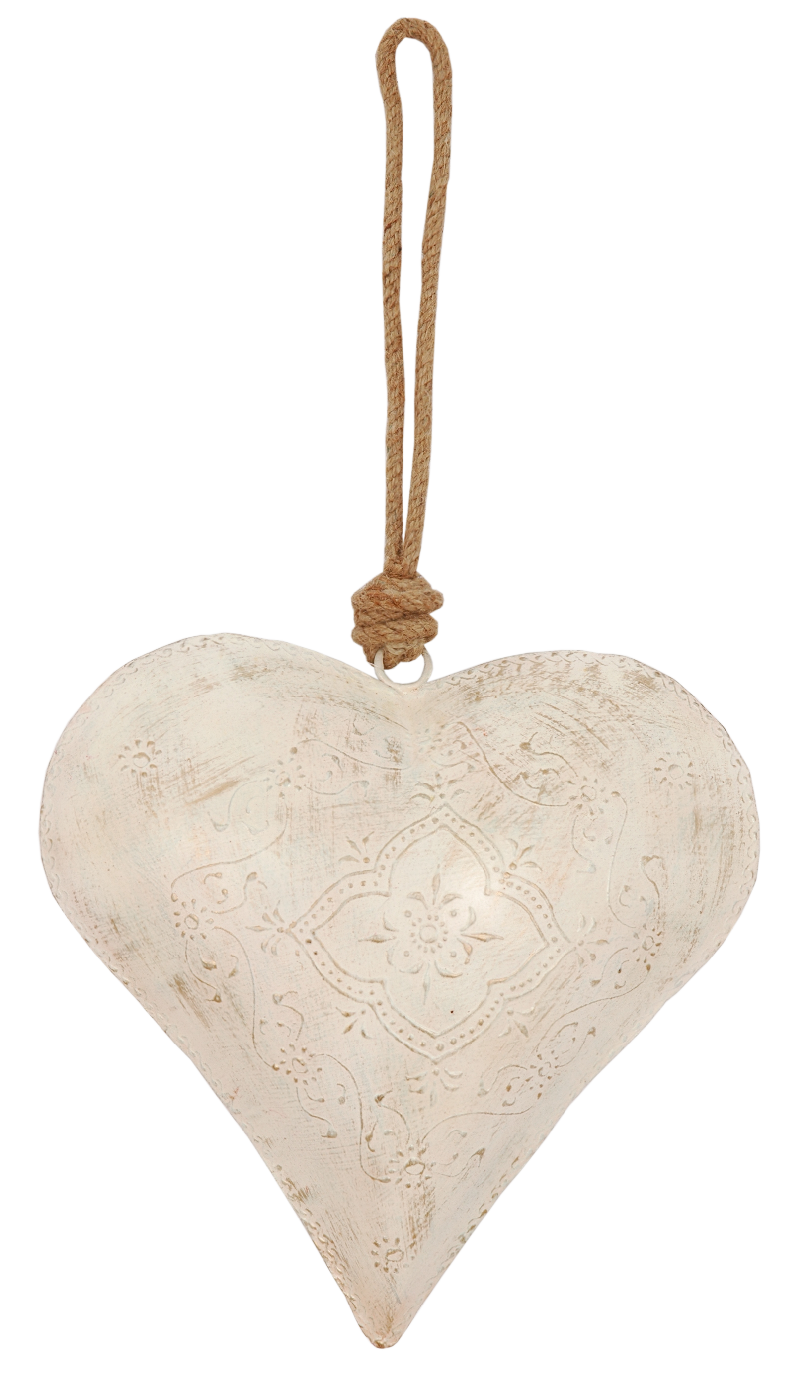 Extra Large Natural Hanging Heart 1400 Hanging Hearts