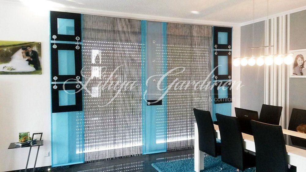 Schöne Wohnzimmer Gardinen nach Maß ✂ Wir gestallten Ihr Fenster - design gardinen wohnzimmer