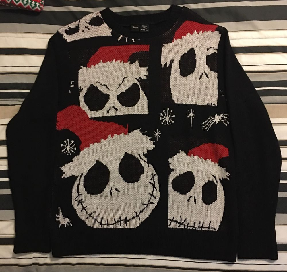 Disney XL Nightmare Befor Christmas Ugly Christmas Sweater #Disney ...