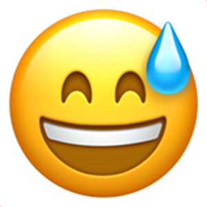 Smiling Face With Open Mouth And Cold Sweat Emoji De Olhos Emojis Papel De Parede Emoji