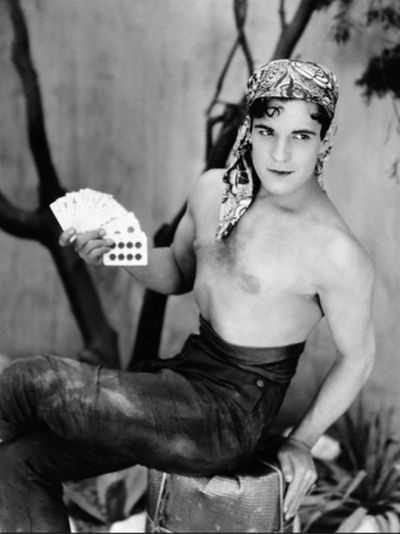 Rudolph valentino bisexual gay