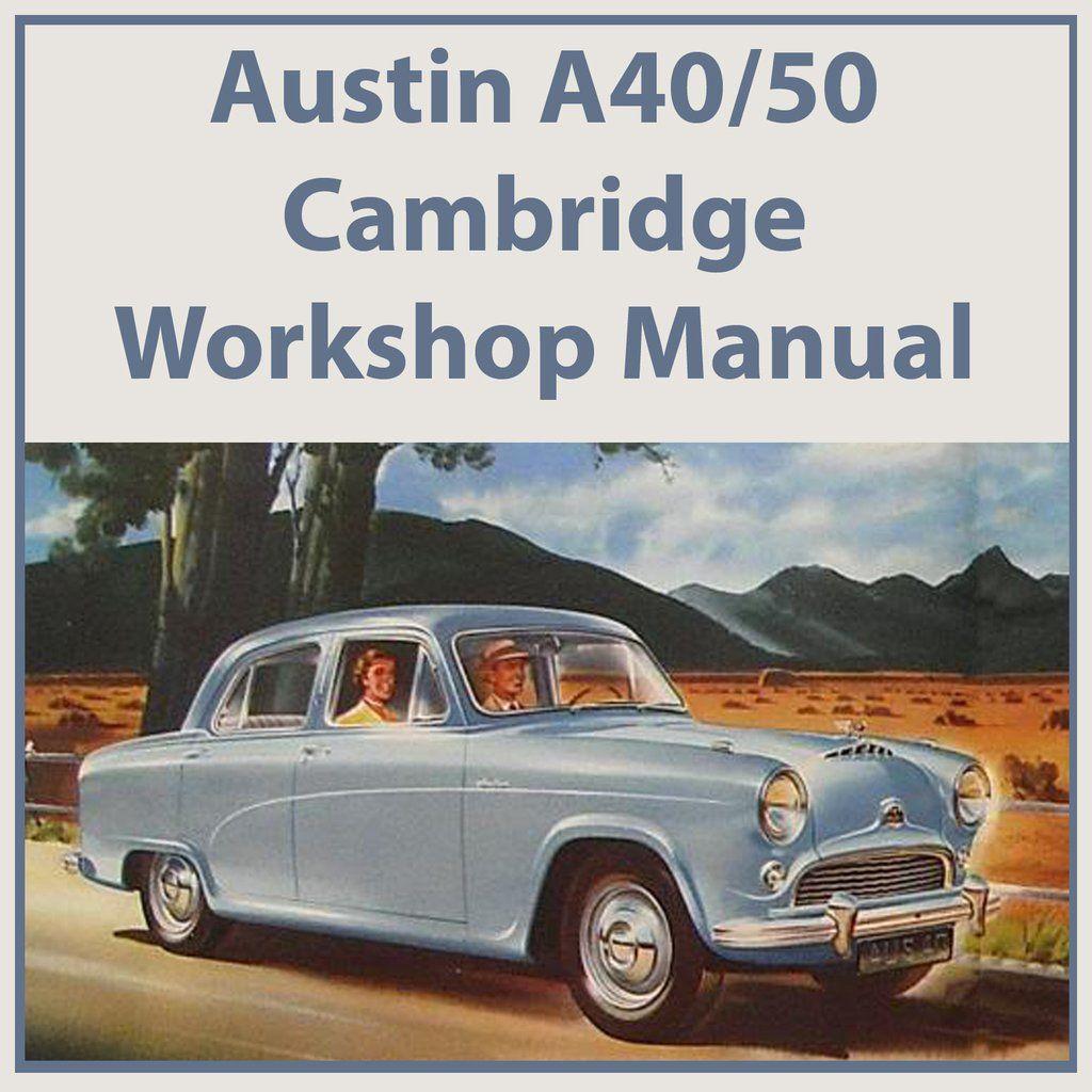 Austin A40  U0026 A50 Cambridge 1954