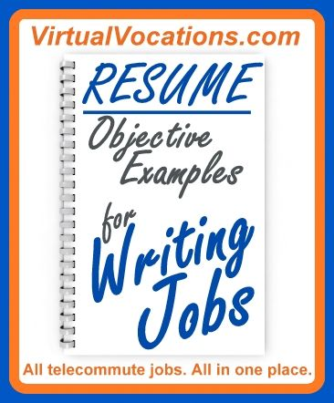 Are you a #writer who is worried that your #resume career #objective - writing an attention grabbing career objective