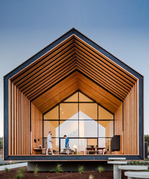 cargo architecture completes villa boreale in eastern quebec is part of House design - in charlevoix, an eastern region of the quebec province, cargo architecture has completed a spacious dwelling capable of accommodating up to 14 guests
