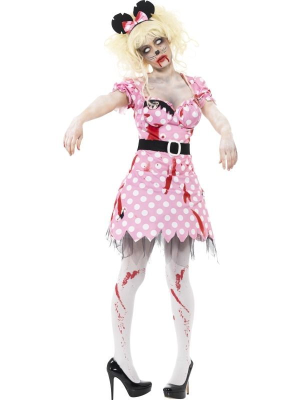 Halloween Horror Kostuums.Zombie Minnie Mouse Horror Kostuum Halloween Costume Ideas
