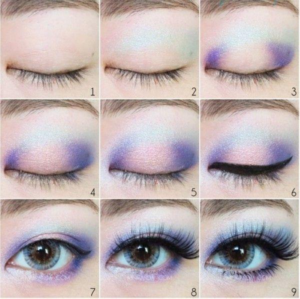 Ideas para maquillarte como una chica pastel goth
