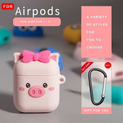 Cute 3d Silicone Case Protective Cover Skin For Apple Airpods 1 2 Pro Earphones Ebay