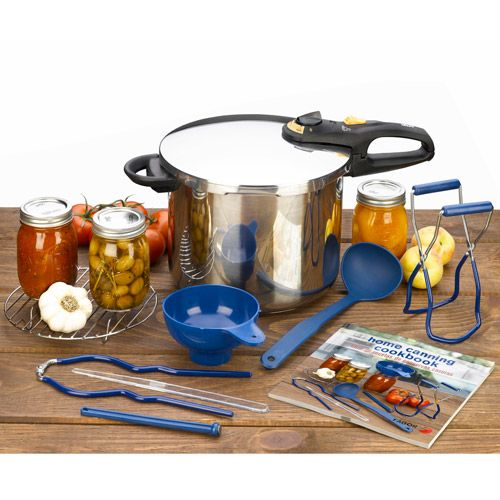 Fagor Pressure Cooker with Home Canning Kit, 10 Piece Set. 918010006,    #Fagor