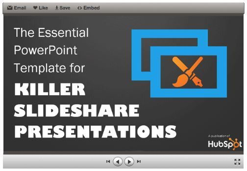 Download The Essential PowerPoint Template for Killer SlideShare