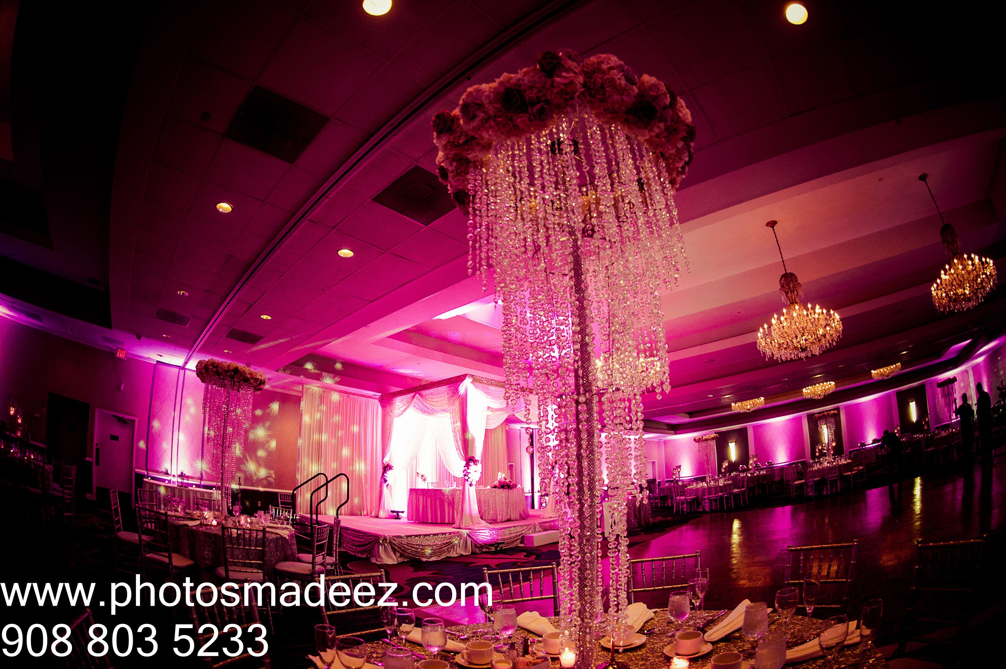 Wedding Decor At Indian Reception Sheraton Parsippany NJ Punjabi In New