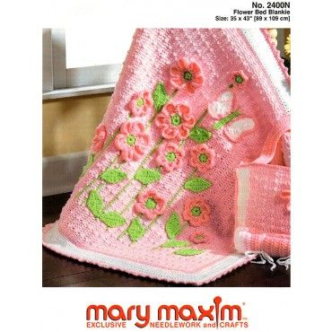 Flower Bed Blankie Pattern | Crochet Patterns | Crochet patterns