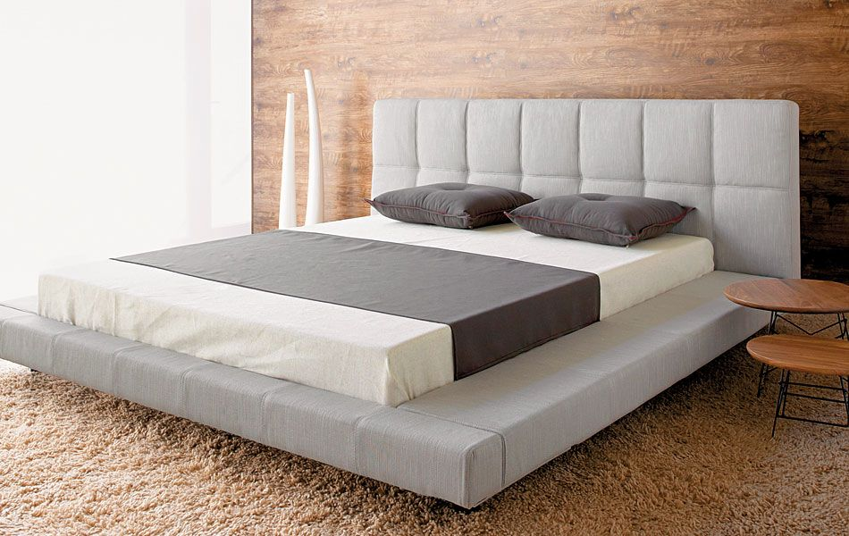 another eco friendly bed the urban low rider bedroom furniture - Modern Queen Bed Frame