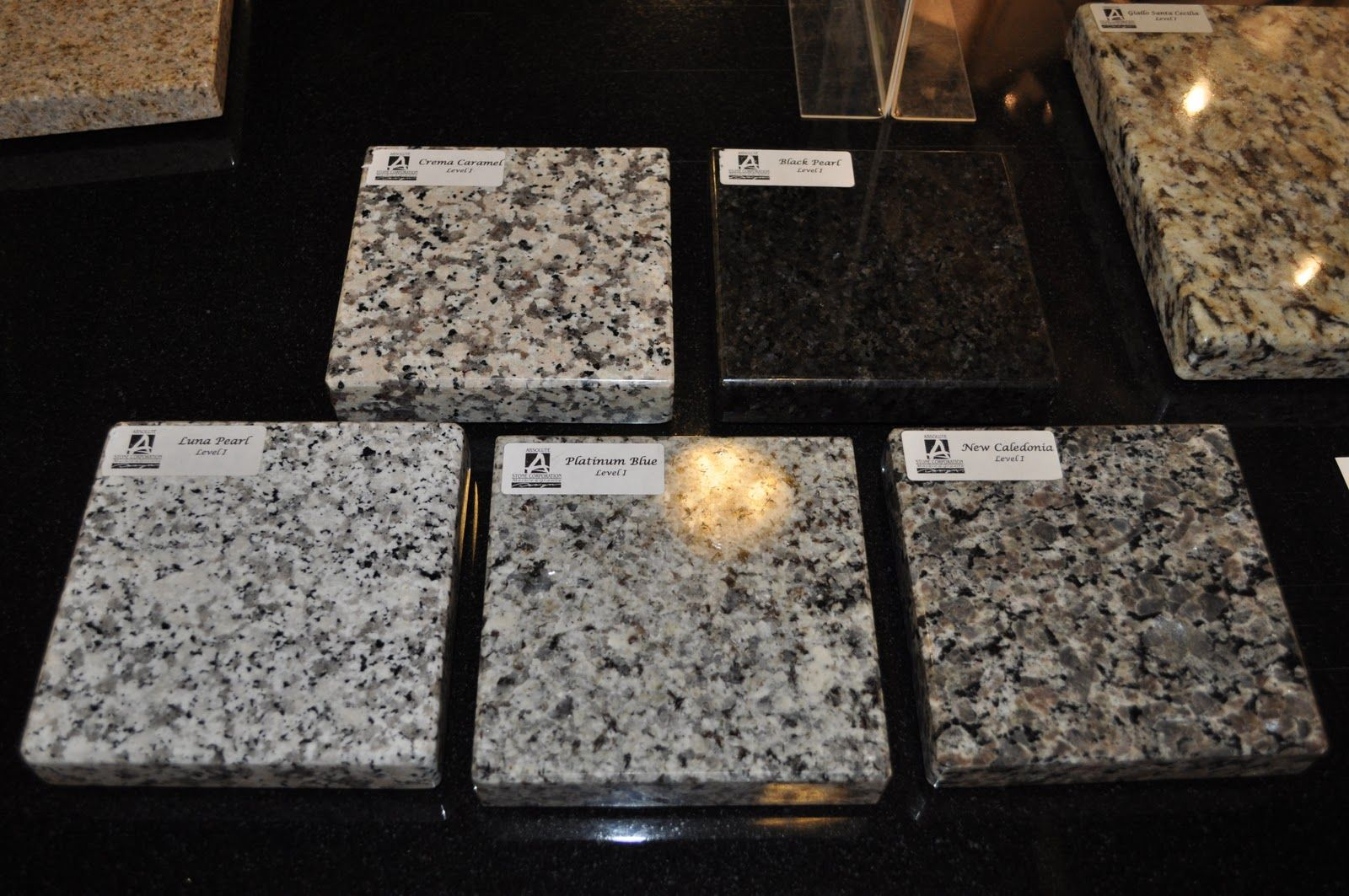 Image Result For White Kitchen Cabinets With Caledonia Granite Countertops  And White Tile Backsplash