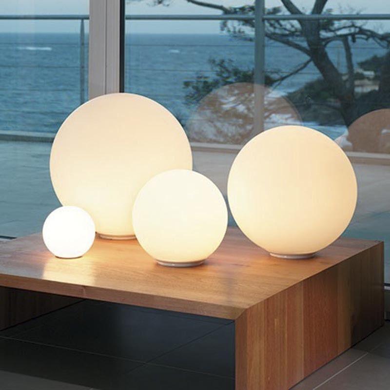 Globe Floor Lamp Living Room Decor