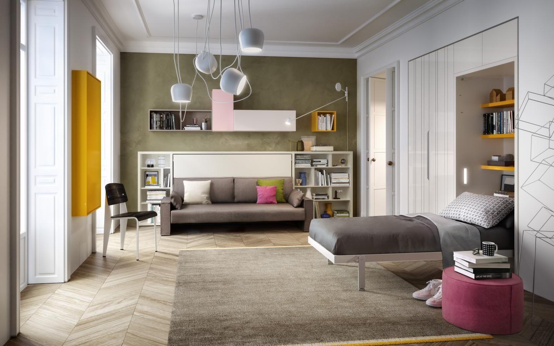 Designermöbel im von Schrankbett, Modulare