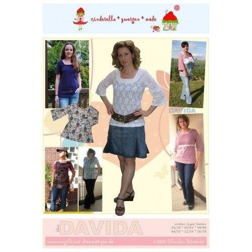 Schnittmuster Cinderella Zwergenmode DAVIDA Shirt von Kathi ...