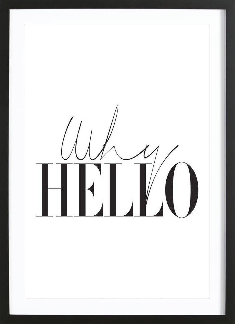 Why Hello of Letters on Love now on JUNIQE! | Arts | Pinterest ...