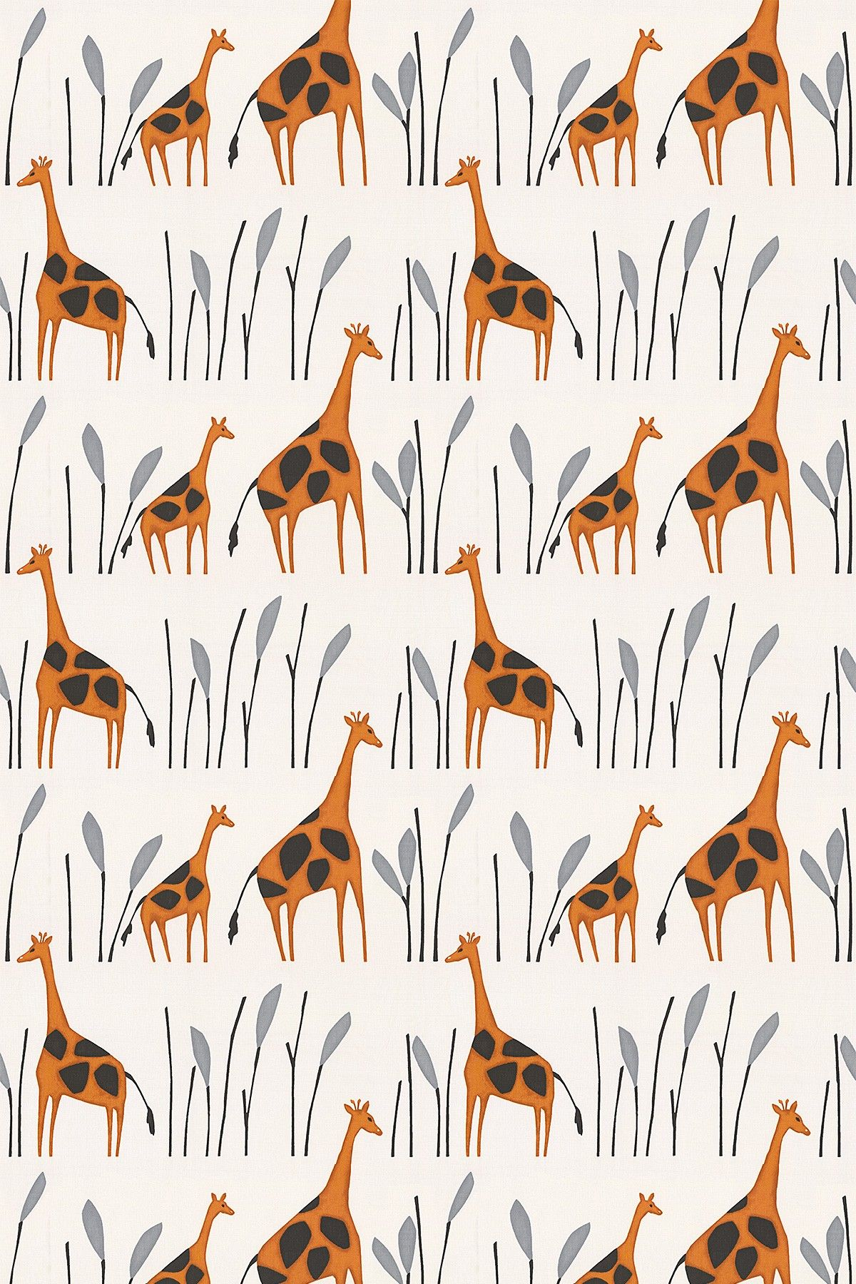 Geoffrey Orange fabric