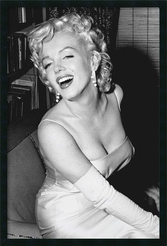 Marilyn Monroe Smiling By Unknown Framed Amanti Art Http Www