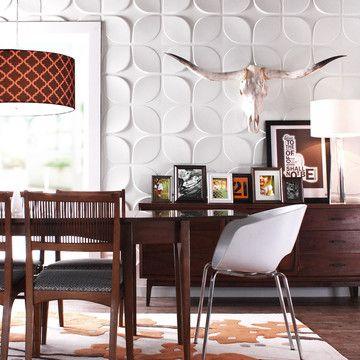 Inhabit Textured 3D Wall Tiles Log House Pinterest - wandgestaltung streifen ideen