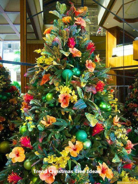 23 Christmas Tree Ideas Christmas Tree Themes Tropical Christmas Trees Tropical Christmas Decorations