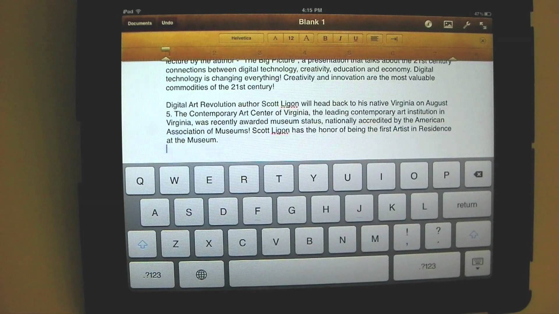 Cut copy and paste an ipad mini tutorial technology help cut copy and paste an ipad mini tutorial baditri Image collections