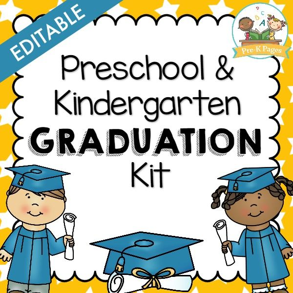 Preschool Graduation Kit Kindergarten graduation, Kindergarten and - copy pre kindergarten certificate printable