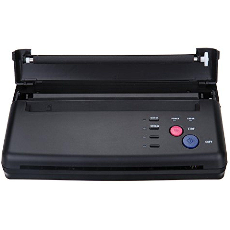 Black tattoo transfer stencil machine thermal copier