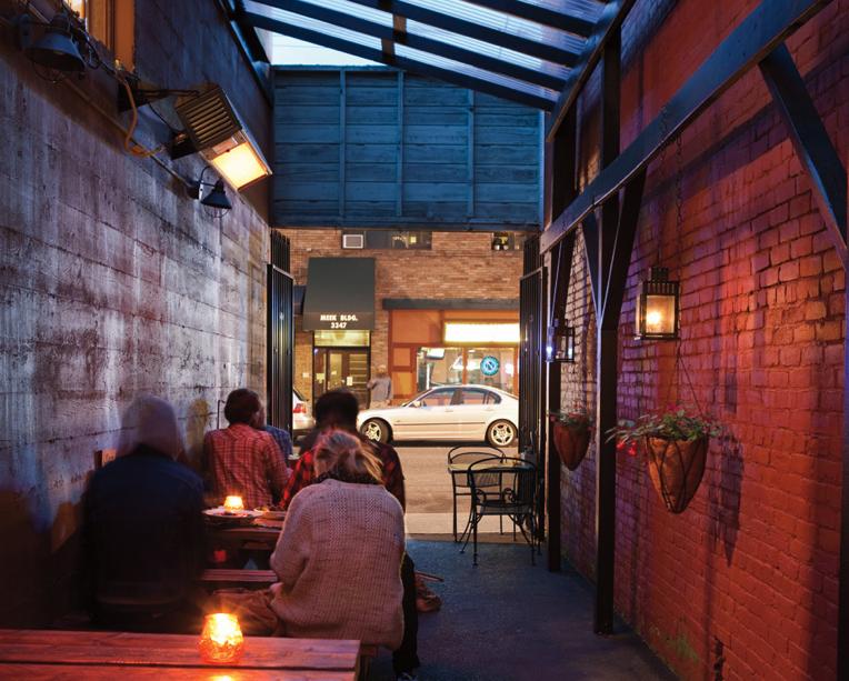 Back Alley of Circa 33, prohibition-era bar
