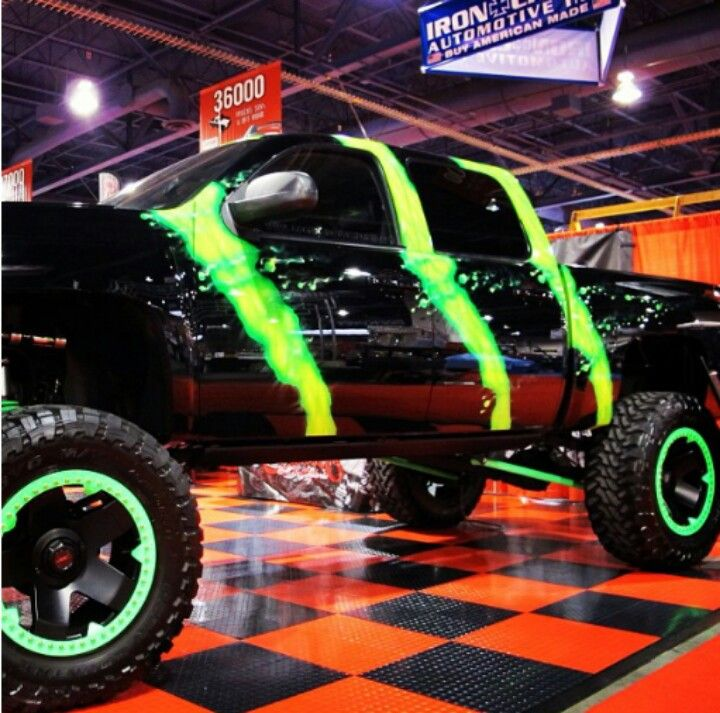 Awesome Truck Things I Want Pinterest Monster Energy