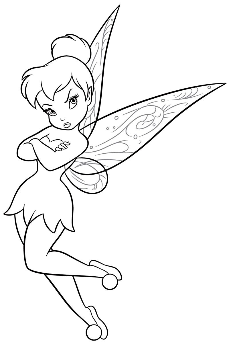 Pin By Mel Yssa On Coloring Pages Tinkerbell Coloring Pages Disney Princess Coloring Pages Fairy Coloring Pages