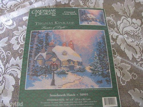Candamar Cross Stitch Thomas Kinkade
