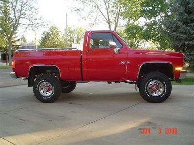 1981 Gmc K1500 Shortbox 4x4 For Sale By Owner Stettler Ab