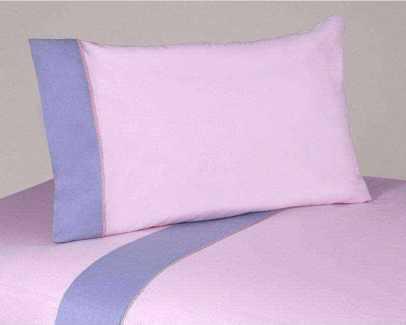 Erfly Pink And Purple 200 Thread Count Sheet Set By Sweet Jojo Designs 59 99