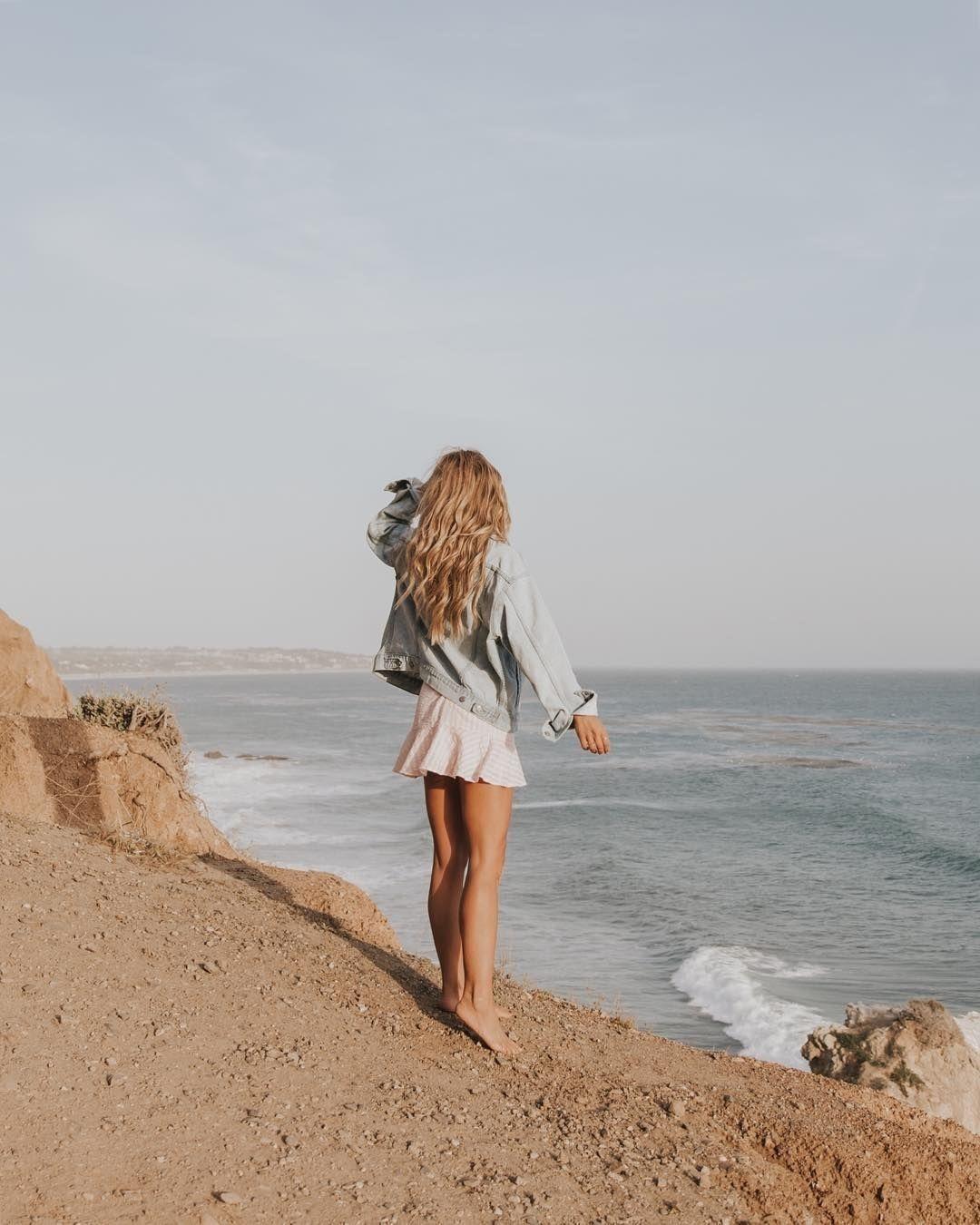 Artsy Beach Girl Aesthetic