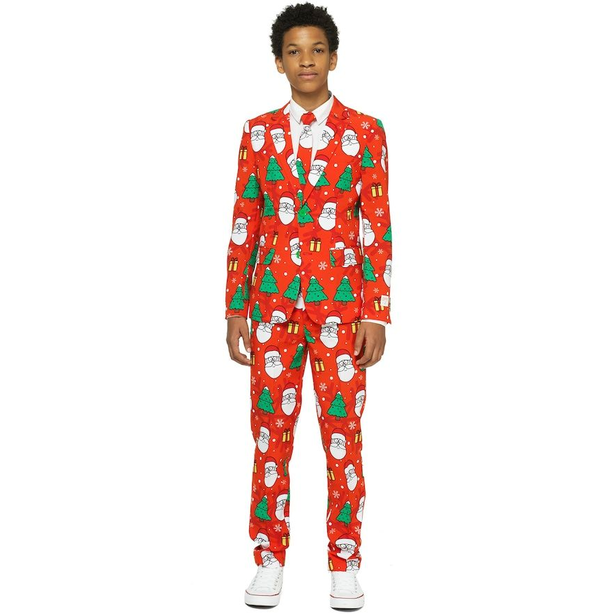 Boys 10 16 OppoSuits Holiday Hero Christmas Suit | Christmas