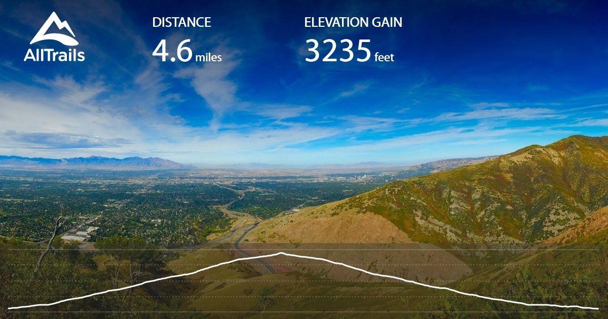 Grandeur Peak Trail (West Face) is a 4.6 mile lightly