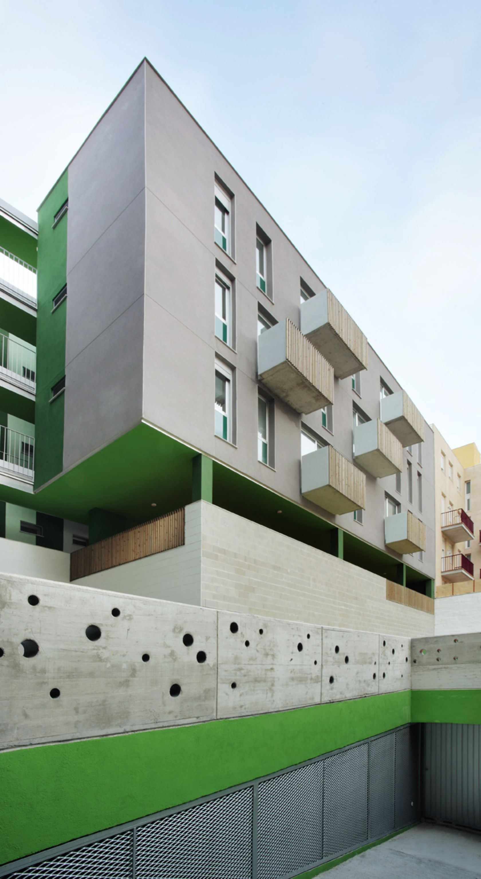 25 social housing for young people menorca spain by - Flexo arquitectura ...